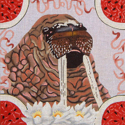 click here to view larger image of Walrus (hand painted canvases)