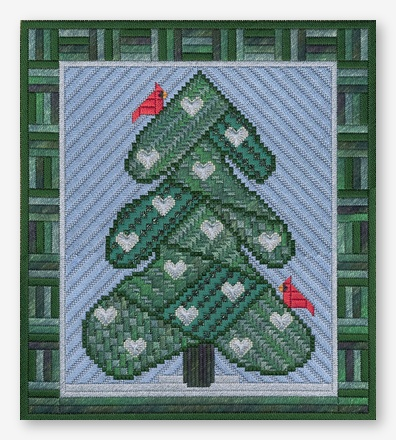 click here to view larger image of Holiday Tree VII (counted canvas work)