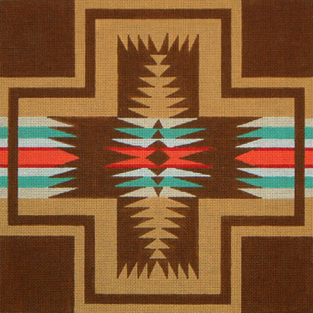 click here to view larger image of Navajo No 1 (hand painted canvases)