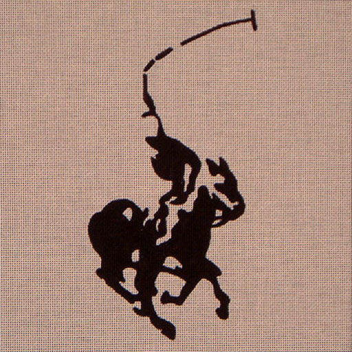 click here to view larger image of Polo Horse (hand painted canvases)