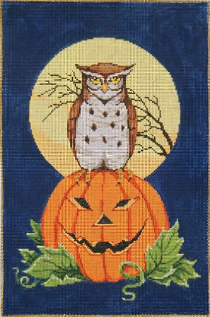 click here to view larger image of Boo-Whoo! (hand painted canvases)