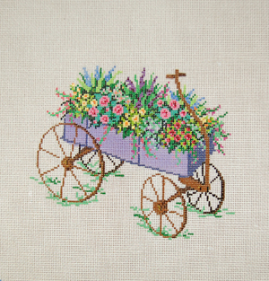 click here to view larger image of Cart 4 (hand painted canvases)