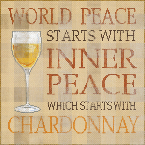 click here to view larger image of Chardonnay (hand painted canvases)