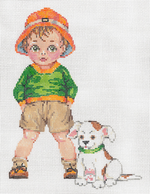 click here to view larger image of Charlie (hand painted canvases)