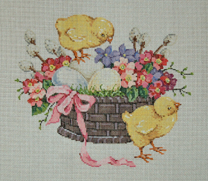 click here to view larger image of Chickies (hand painted canvases)