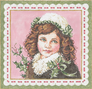 click here to view larger image of Clara (hand painted canvases)