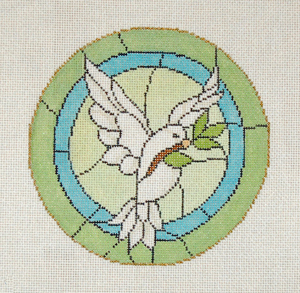 click here to view larger image of Dove (hand painted canvases)