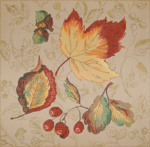 click here to view larger image of Fall Splendor (hand painted canvases)