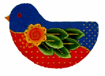 click here to view larger image of Fancy Leaf-Wing Bird (hand painted canvases)