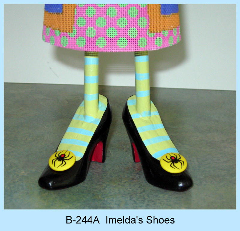 click here to view larger image of Shoes and Legs for Imelda the Witch (accessories)
