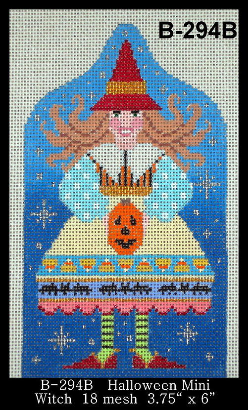 click here to view larger image of Halloween Mini - Witch Stitch Guide (books)