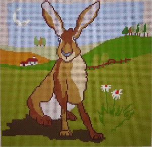 click here to view larger image of Hare (hand painted canvases)