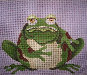 click here to view larger image of Son Of Ugly Frog (hand painted canvases)