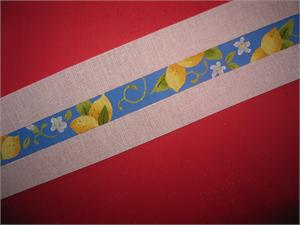 click here to view larger image of Lemons Belt (hand painted canvases)