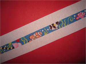 click here to view larger image of Tropical Fish Belt (hand painted canvases)
