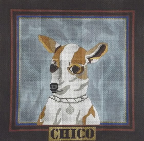 click here to view larger image of Chico (hand painted canvases)