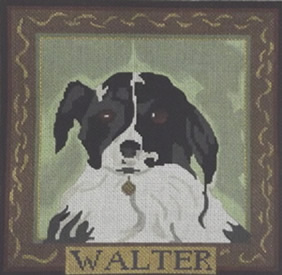 click here to view larger image of Walter (hand painted canvases)