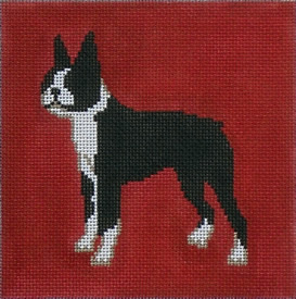 click here to view larger image of Boxer (13ct) (hand painted canvases)