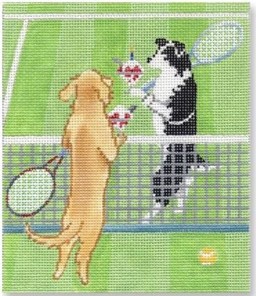 click here to view larger image of Wimbledon (hand painted canvases)
