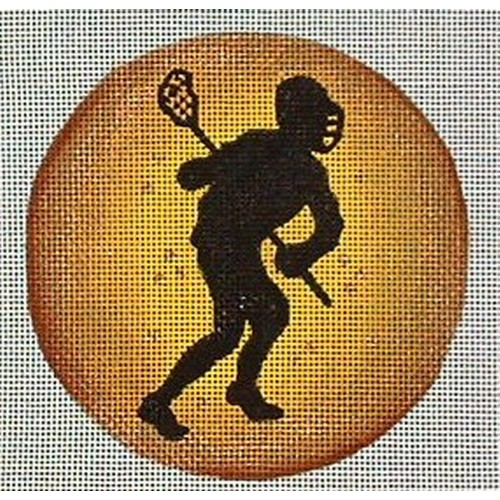 click here to view larger image of Lacrosse Ornament (hand painted canvases)