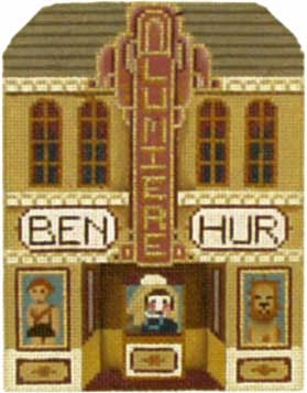 click here to view larger image of Lumiere Cinema - Thimble Town (hand painted canvases)