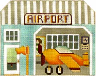 click here to view larger image of Airport - Thimble Town (hand painted canvases)