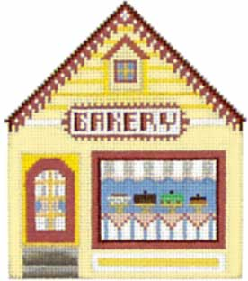 click here to view larger image of Bakery - Thimble Town (hand painted canvases)