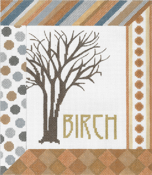 click here to view larger image of Birch (hand painted canvases)