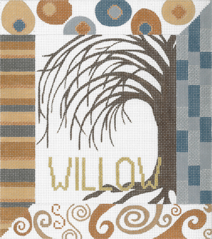 click here to view larger image of Willow (hand painted canvases)