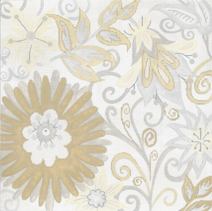 click here to view larger image of Winter Garden (hand painted canvases)