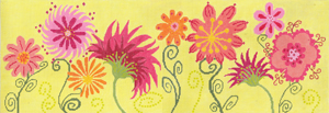 click here to view larger image of Summer Splendor (hand painted canvases)