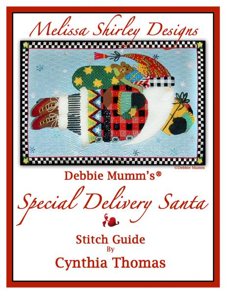 click here to view larger image of Special Delivery Santa Stitch Guide (books)