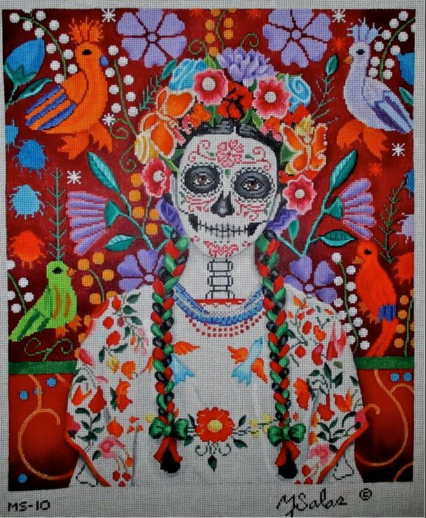 click here to view larger image of La Hermosa Sandra (hand painted canvases)