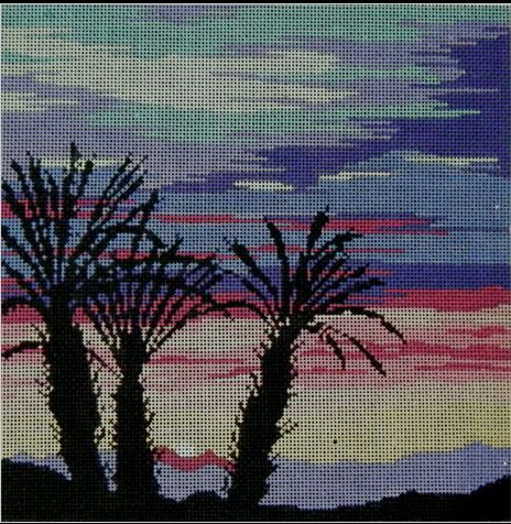 Palm Sunset - click here for more details