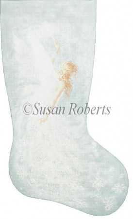 Snow Fairy Stocking - click here for more details