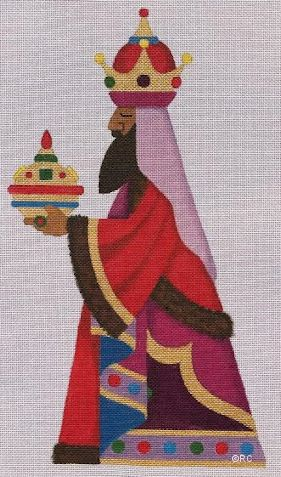 click here to view larger image of Wise Man 2 (hand painted canvases)