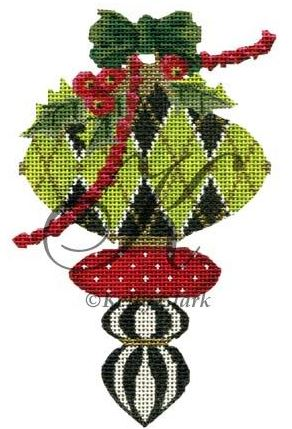 click here to view larger image of Peridot and Holly Harlequin Stitch Guide (books)