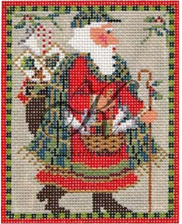 click here to view larger image of Old World Santa Stitch Guide (books)