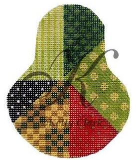 click here to view larger image of Crazy Quilt Sampler Pear Stitch Guide (books)