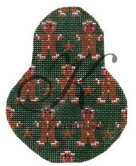 click here to view larger image of Gingerbread Men and Stars Pear Stitch Guide (books)