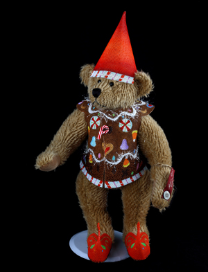 click here to view larger image of Candyland Gnome Bear (hand painted canvases)