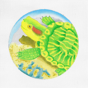 click here to view larger image of Baby Turtle (hand painted canvases)
