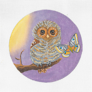 click here to view larger image of Baby Owl (hand painted canvases)