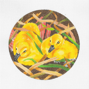 click here to view larger image of Baby Duckling (hand painted canvases)