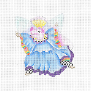 click here to view larger image of Flying Fairy Piglet B (hand painted canvases)