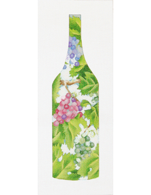 click here to view larger image of Divine Wine (hand painted canvases)