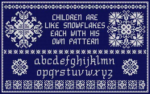 click here to view larger image of Children Are Snow (hand painted canvases)