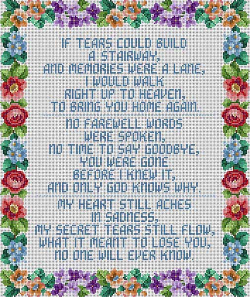 click here to view larger image of If Tears Could Build (hand painted canvases)
