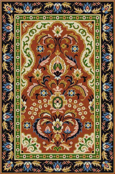 click here to view larger image of 2X Rug (hand painted canvases)