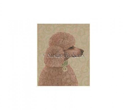 click here to view larger image of Apricot Poodle - 18ct (hand painted canvases)